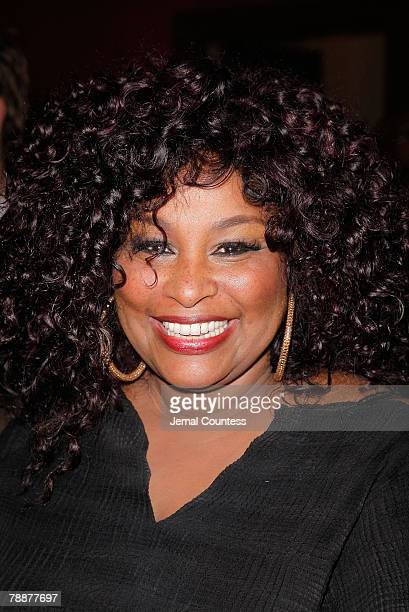 Singer Chaka Khan at the Cast Change Celebration for New cast members joining the Broadway Production of The Color Purple which welcomed new cast...
