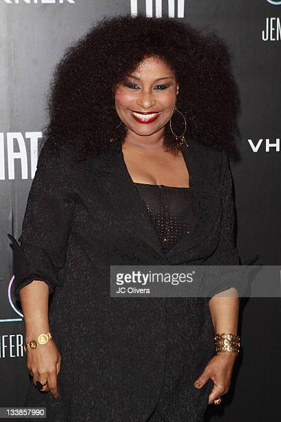 Singer Chaka Khan attends Jennifer Lopez's 2011 American Music Awards PostParty held at the Greystone Manor Supperclub on November 20 2011 in Los...