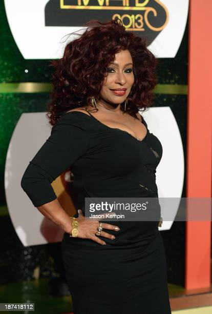 Singer Chaka Khan attends the Soul Train Awards 2013 at the Orleans Arena on November 8 2013 in Las Vegas Nevada