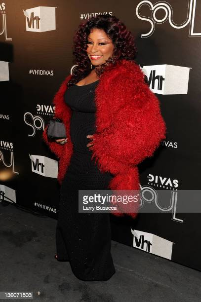 Singer Chaka Khan attends VH1 Divas Celebrates Soul at Hammerstein Ballroom on December 18 2011 in New York City