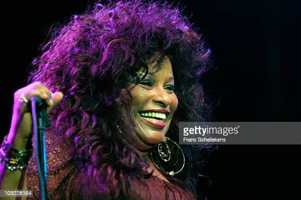 Singer Chaka Khan performs live on stage at the North Sea Jazz Festival in The Hague, Netherlands on July 08 2005