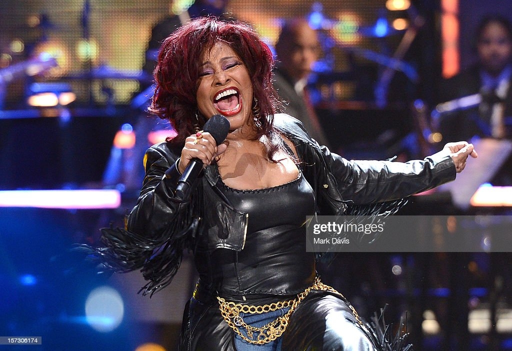 Singer Chaka Khan performs onstage during UNCF's 34th annual An Evening Of Stars held at Pasadena Civic Auditorium on December 1, 2012 in Pasadena, California.
