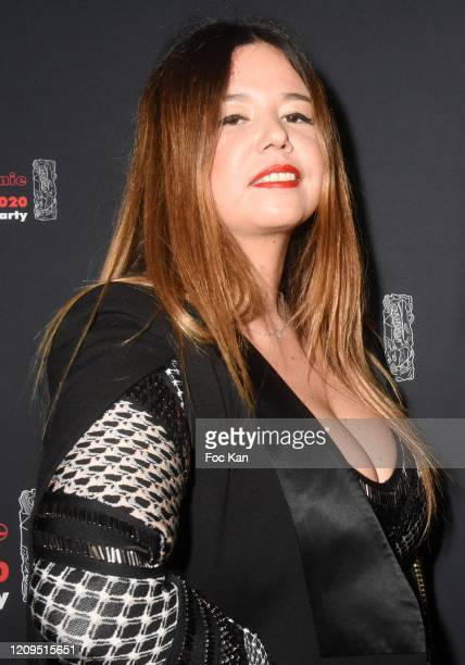 Singer Chanez attends the Cesar Film Awards 2020 Party At Le Bridge Club on February 29, 2020 in Paris, France.
