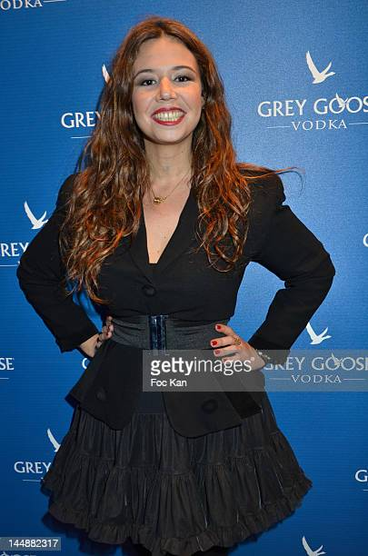 Singer Chanez attends the Frederic Beigbeder 'Le Cercle Party' At Carre Grey Goose 65th Annual Cannes Film Festival at Grand Hotel Terrace on May 19...