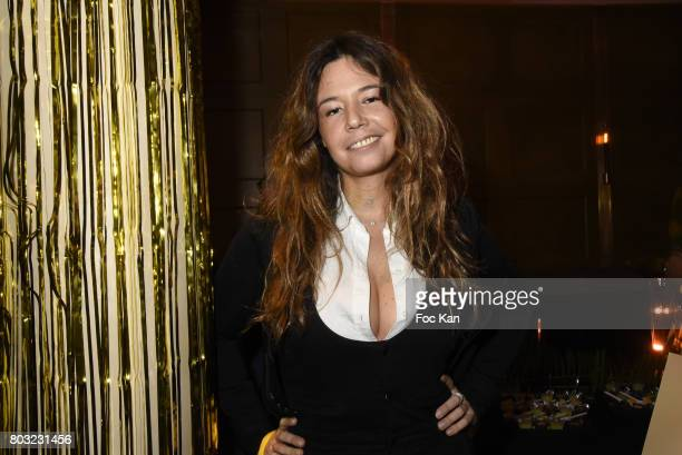 Singer Chanez attends the Havaianas Loves Samba Concert Party at Alcazar on June 28 2017 in Paris France
