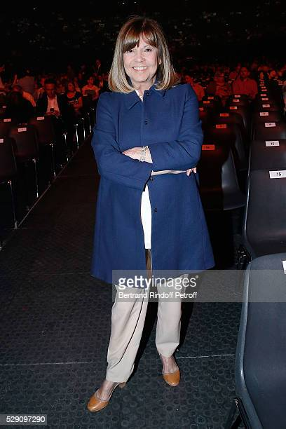 Singer Chantal Goya attends the Michel Polnareff New Tour in France at AccorHotels Arena on May 07 2016 in Paris