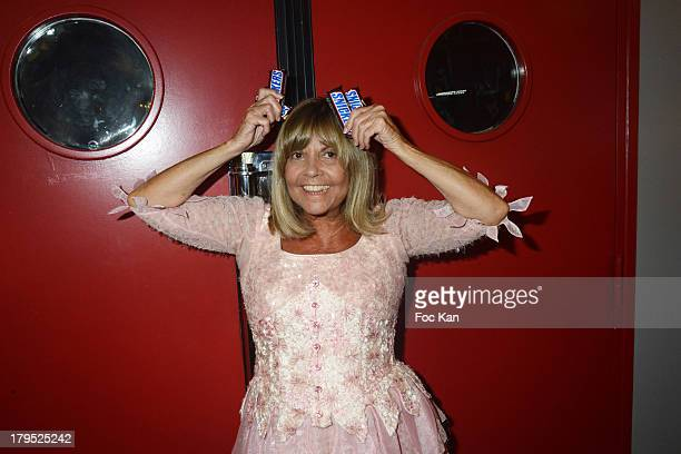 Singer Chantal Goya attends the 'Snickers' Clip Launch Party at Studio 28 on September 4 2013 in Paris France