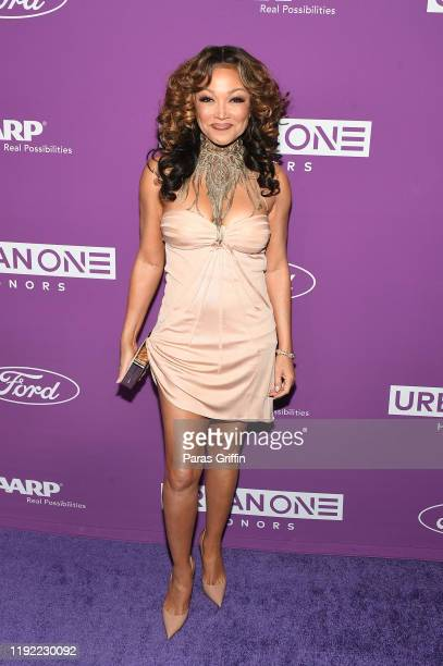 Singer Chante Moore attends 2019 Urban One Honors at MGM National Harbor on December 05 2019 in Oxon Hill Maryland