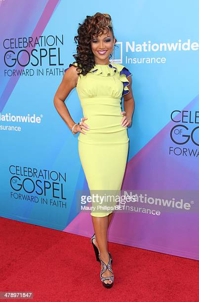 Singer Chante Moore attends the BET Celebration of Gospel 2014 at Orpheum Theatre on March 15 2014 in Los Angeles California