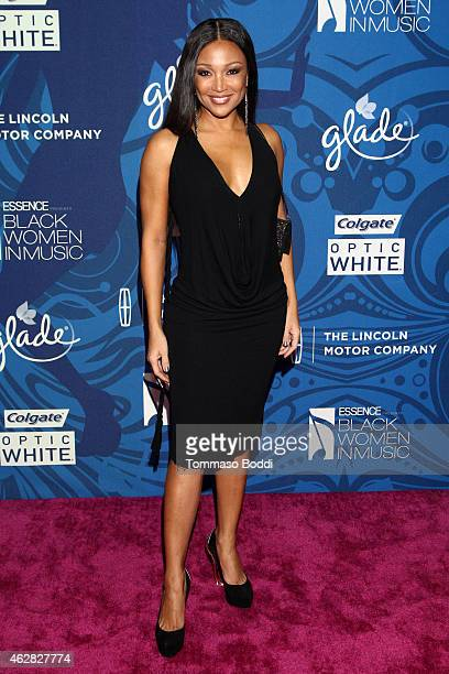 Singer Chante Moore attends the Essence 6th annual Black Women in Music Event held at Avalon on February 5 2015 in Hollywood California