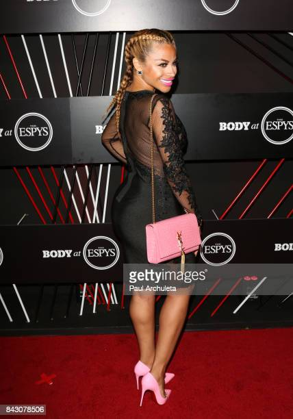 Singer Charisse Mills attends the ESPN Magazin Body Issue preESPYS party at Avalon Hollywood on July 11 2017 in Los Angeles California