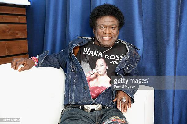 Singer Charles Bradley attends the PANDORA Discovery Den SXSW on March 19 2016 in Austin Texas