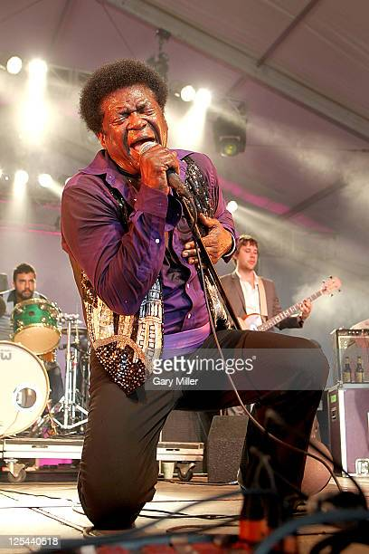 Singer Charles Bradley performs during the Austin City Limits Music Festival at Zilker Park on September 16, 2011 in Austin, United States.