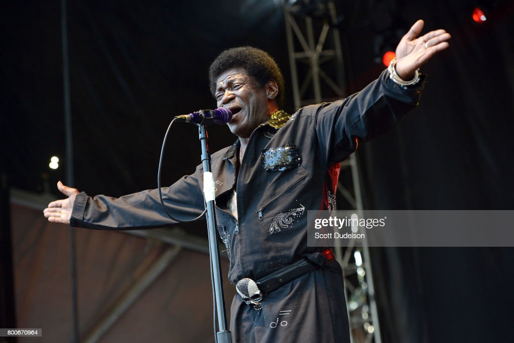 Singer Charles Bradley performs onstage during Arroyo Seco Weekend at the Brookside Golf Course on June 24, 2017 in Pasadena, California.