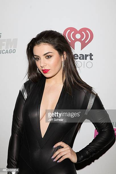 Singer Charli XCX attends 1035 KISS FM's Jingle Ball 2014 at Allstate Arena on December 18 2014 in Chicago Illinois