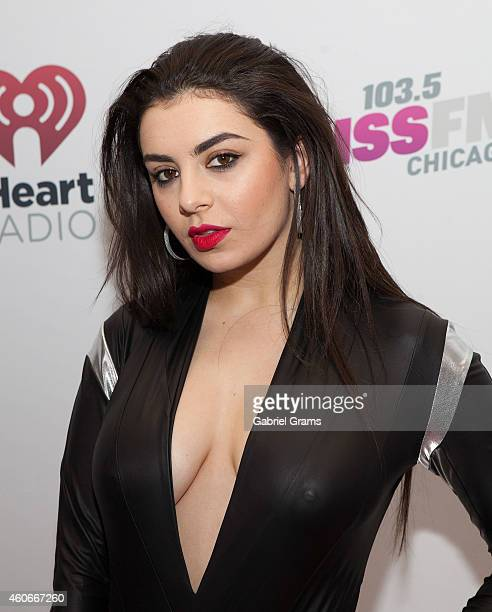 Singer Charli XCX attends 1035 KISS FM's Jingle Ball on December 18 2014 in Chicago Illinois