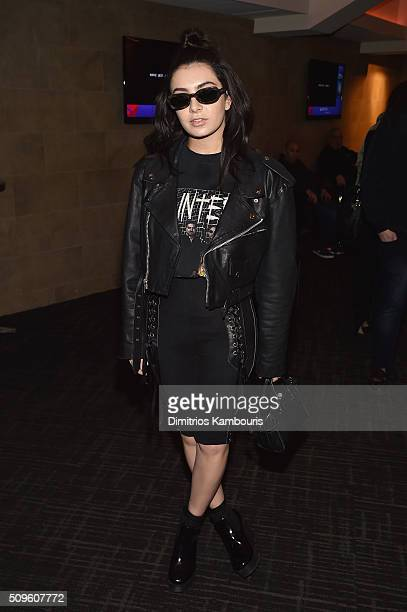 Singer Charli XCX attends Kanye West Yeezy Season 3 on February 11 2016 in New York City