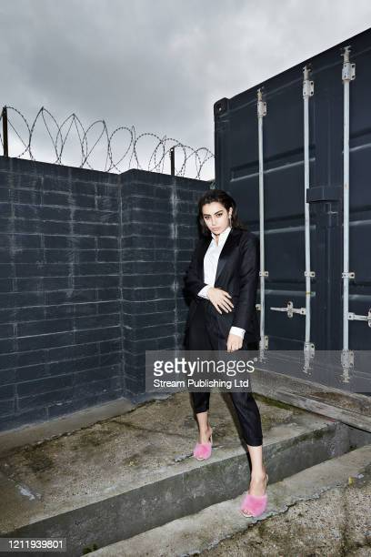 Singer Charli XCX is photographed for Attitude Magazine on September 4 2017 in London England