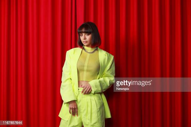 SYDNEY NSW Singer Charli XCX poses during a photo shoot in Sydney New South Wales