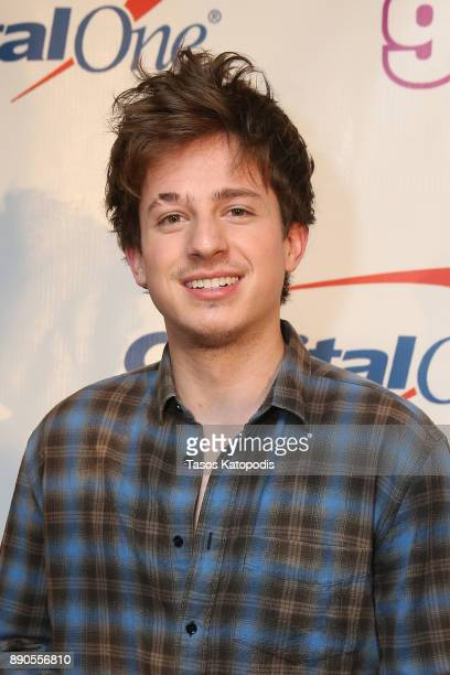 Singer Charlie Puth attends Hot 995's Jingle Ball 2017 at Capital One Arena on December 11 2017 in Washington DC