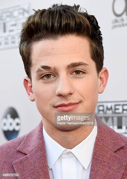 Singer Charlie Puth attends the 2015 American Music Awards at Microsoft Theater on November 22 2015 in Los Angeles California