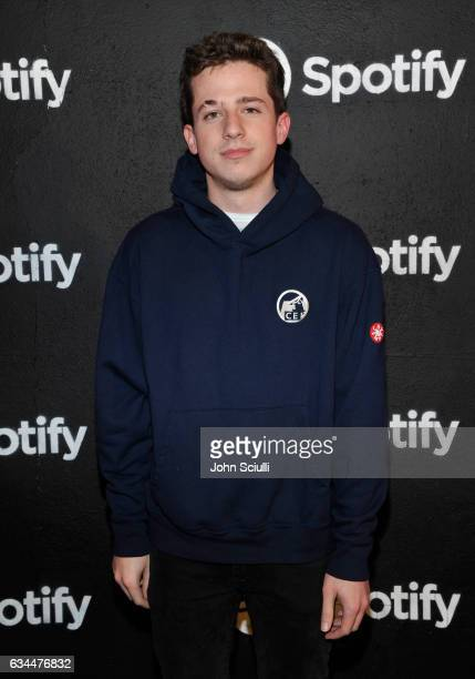 Singer Charlie Puth attends the Spotify Best New Artist Nominees celebration at Belasco Theatre on 9 2017 in Los Angeles California