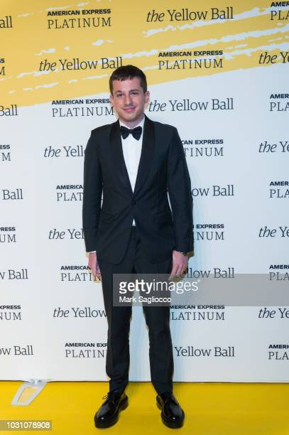 Singer Charlie Puth attends the Yellow Ball at the Brooklyn Museum on September 10 2018 in New York City