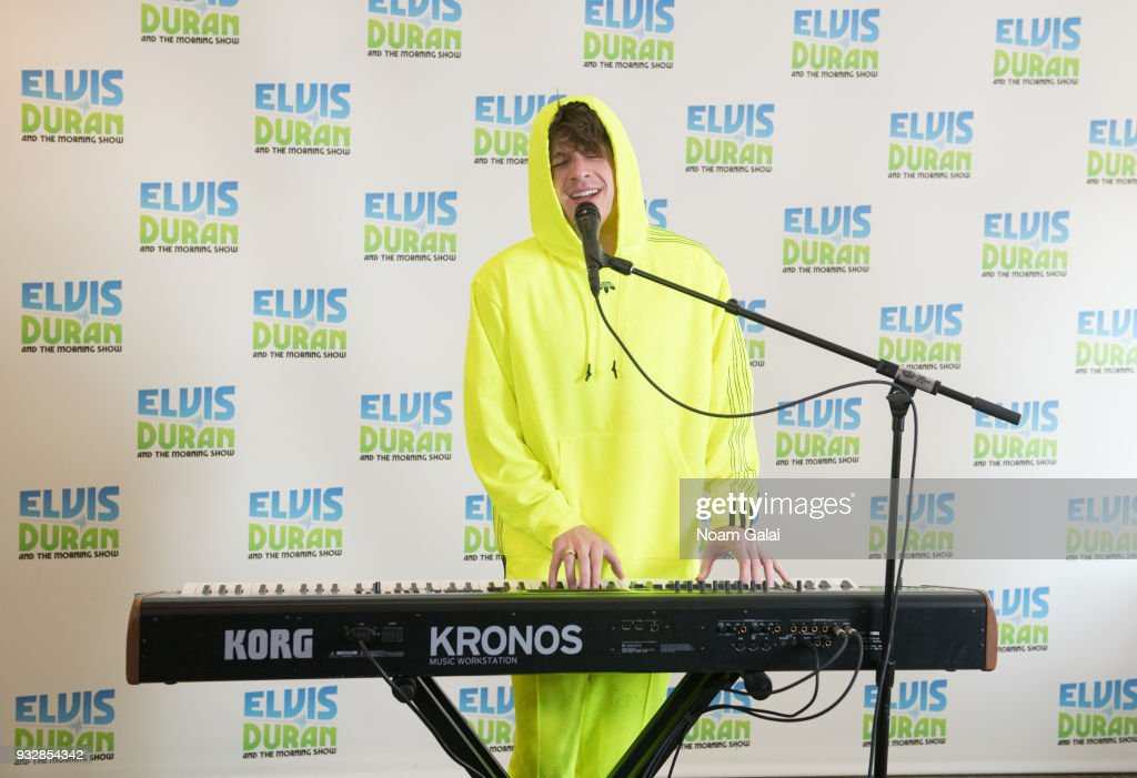 "Charlie Puth Visits ""The Elvis Duran Z100 Morning Show"""