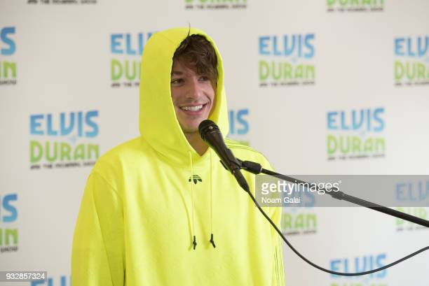 Singer Charlie Puth performs at 'The Elvis Duran Z100 Morning Show' at Z100 Studio on March 16 2018 in New York City