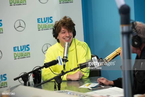 Singer Charlie Puth visits 'The Elvis Duran Z100 Morning Show' at Z100 Studio on March 16 2018 in New York City