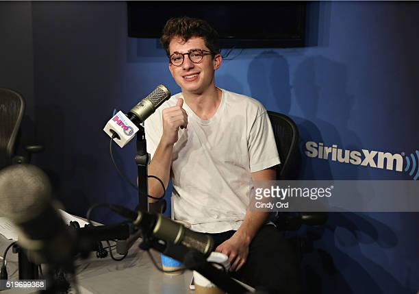 Singer Charlie Puth visits the SiriusXM Studio on April 7 2016 in New York City
