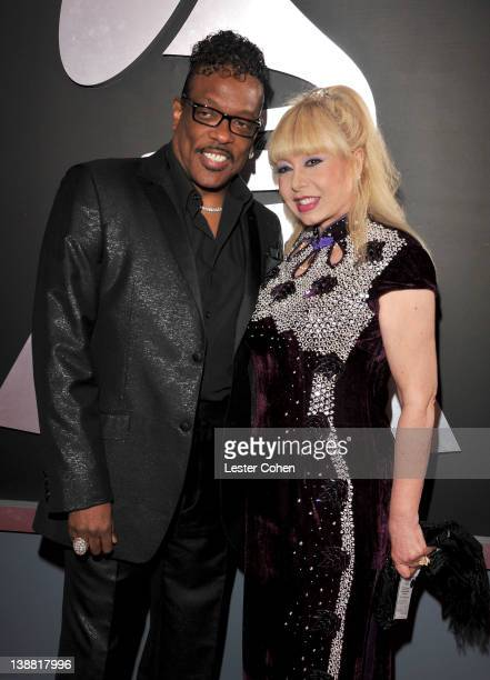Singer Charlie Wilson and Mahin Wilson arrives at The 54th Annual GRAMMY Awards at Staples Center on February 12 2012 in Los Angeles California