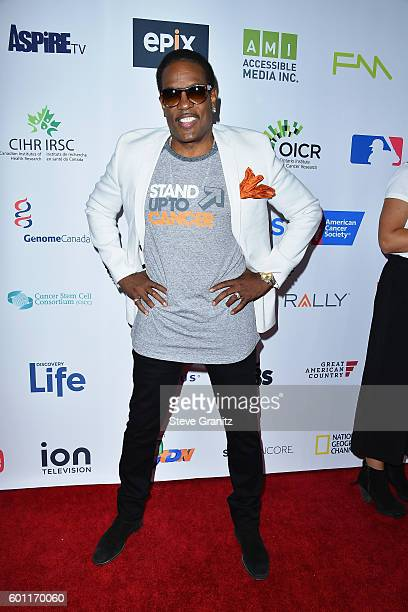 Singer Charlie Wilson attends Stand Up To Cancer 2016 at Walt Disney Concert Hall on September 9 2016 in Los Angeles California