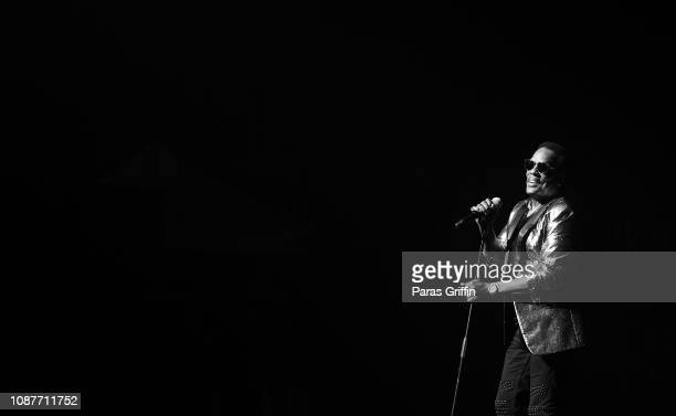 Singer Charlie Wilson performs in concert at Cobb Energy Centre on December 28 2018 in Atlanta Georgia