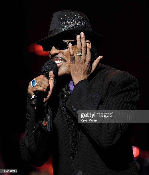 Singer Charlie Wilson performs onstage at Help Haiti with George Lopez Friends at LA Live's Nokia Theater on February 4 2010 in Los Angeles California