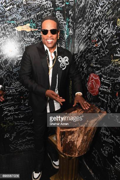 Singer Charlie Wilson poses backstage during Apollo Spring Gala 2017 at The Apollo Theater on June 12 2017 in New York City