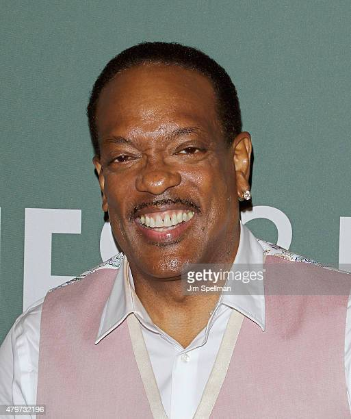Singer Charlie Wilson signs copies of 'I Am Charlie Wilson'at Barnes Noble Tribeca on July 6 2015 in New York City