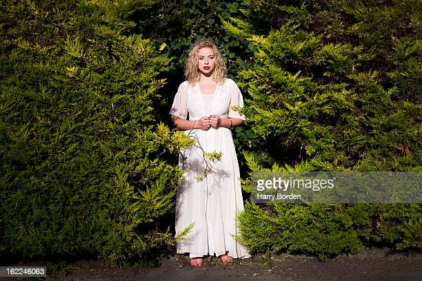 Singer Charlotte Church is photographed for Guardian on September 9 2012 in Cardiff Wales