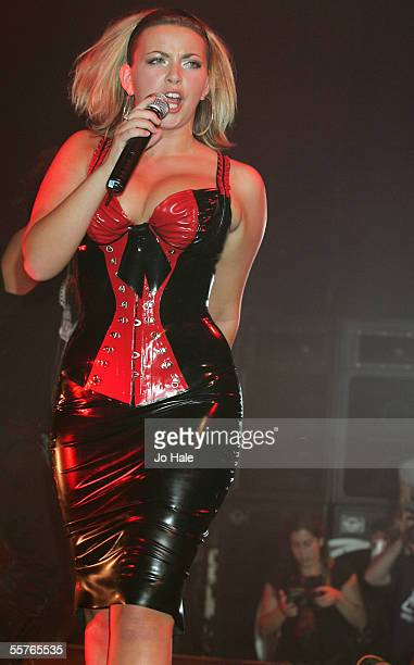 Singer Charlotte Church performs at GAY At The Astoria on September 24 2005 in London England She is in town to promote her new single Call My Name...