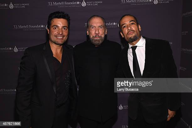 Singer Chayanne CoFounder Chairman and CEO of John Paul Mitchell Systems and CoFounder of Patron Tequila and Spirits John Paul DeJoria and musician...