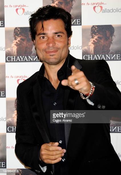 "Singer Chayanne presents his new album ""No Hay Imposible"" at the Palacio de los Deportes on May 26, 2010 in Madrid, Spain."