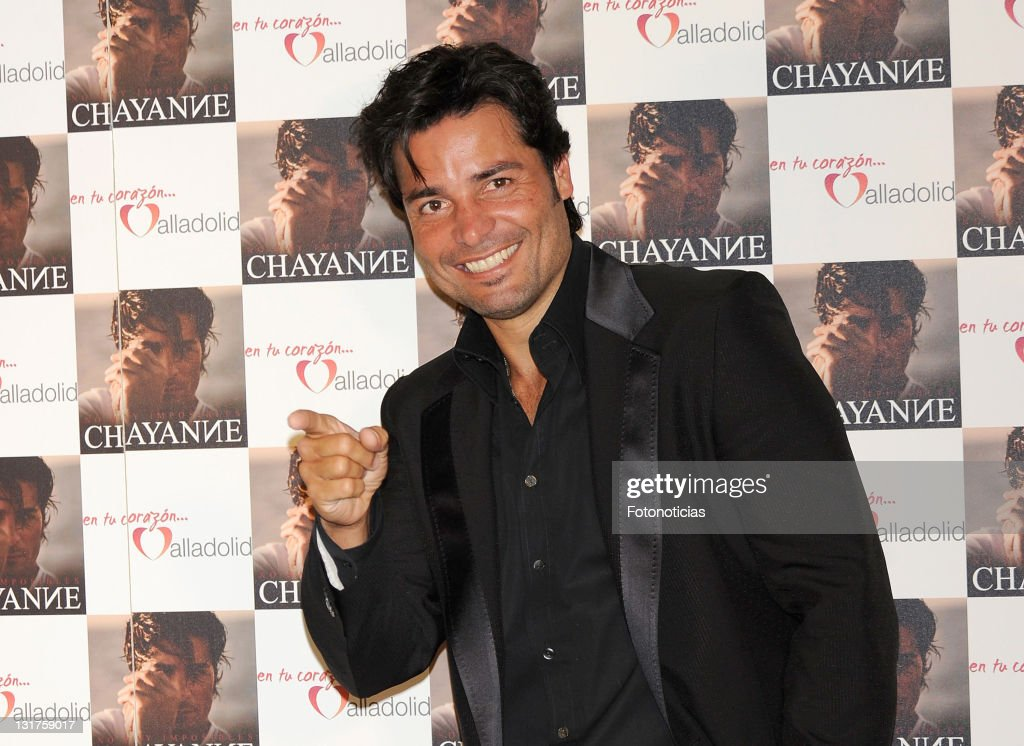 Chayanne Presents His New Album In Madrid