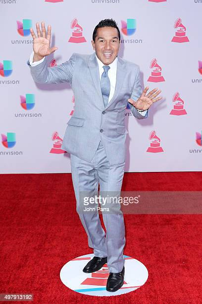 Singer Checo Acosta attends the 16th Latin GRAMMY Awards at the MGM Grand Garden Arena on November 19 2015 in Las Vegas Nevada