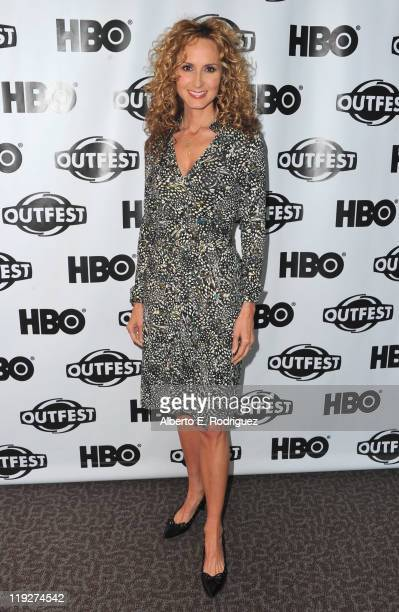 Singer Chely Wright arrives to the 2011 Outfest Special Screening of Wish Me Away at Directors Guild Of America on July 15 2011 in Los Angeles...
