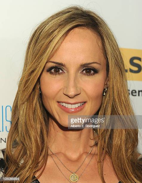 Singer Chely Wright arrives to the 6th Annual GLSEN Respect Awards at the Beverly Hills Hotel on October 8 2010 in Beverly Hills California