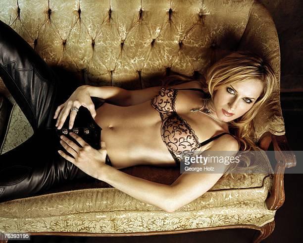 Singer Chely Wright is photographed for FHM Magazine on April 5 2002 in Brooklyn New York PUBLISHED IMAGE