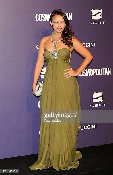 Singer Chenoa attends 'Cosmopolitan Fun Fearless Female' Awards 2011 at the Ritz Hotel on October 3, 2011 in Madrid, Spain.