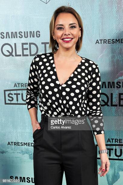Singer Chenoa attends the Atresmedia Studios photocall at the Barcelo Theater on March 13 2018 in Madrid Spain