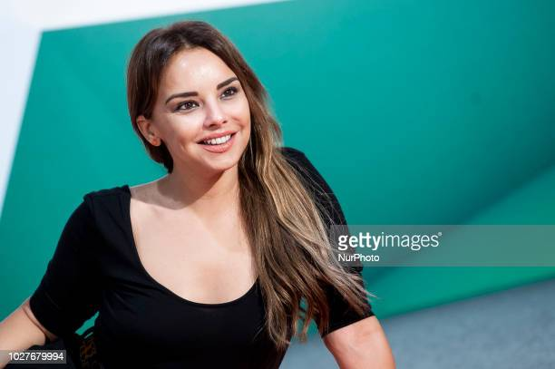 Singer Chenoa attends to presentation of new season of 'Tu cara me suena' during FestVal in Vitoria Spain September 06 2018