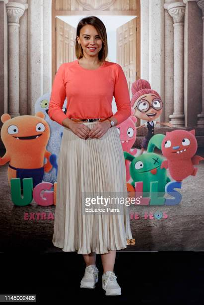 Singer Chenoa attends 'Uglydolls Extraordinariamente Feos' photocall on April 25 2019 in Madrid Spain